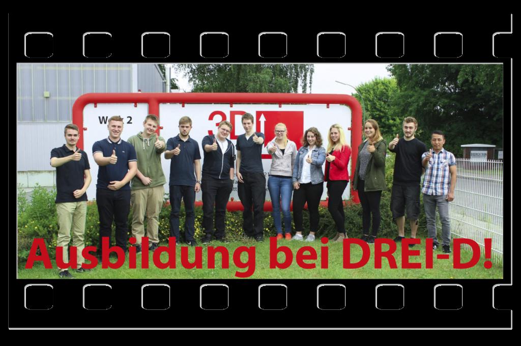Ausbildung bei DREI-D